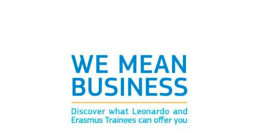 We Mean Business: Discover Erasmus and Leonardo da Vinci Trainee Placements Campaign