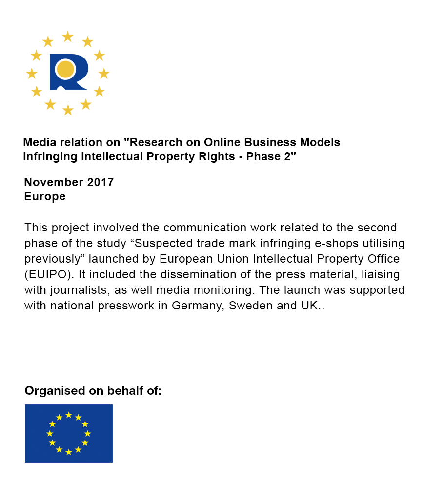 """Intellectual Property Rights: Media Relation On """"Research On Online Business Models"""